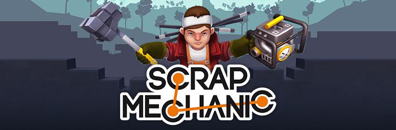 Scrap mechanic версии 0. 2. 13 торрент.