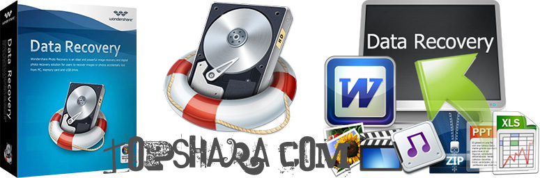 Wondershare Data Recovery + Ключ