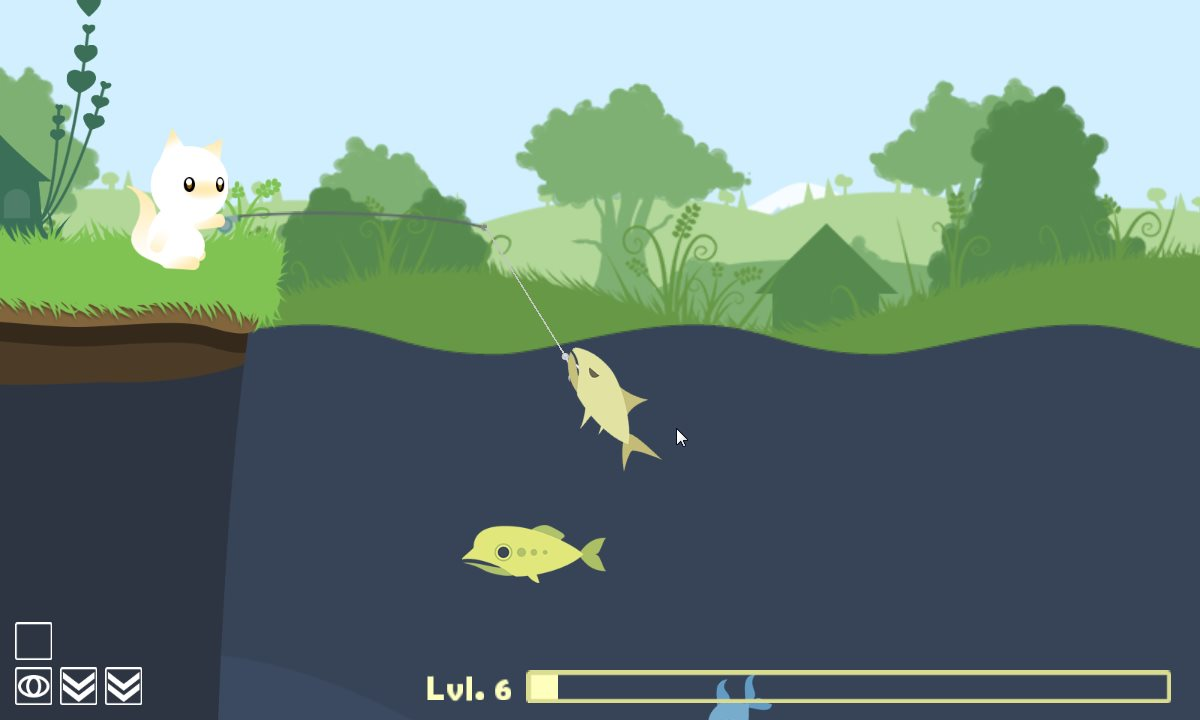 cat goes fishing apk полная версия
