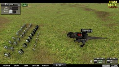 Beast Battle Simulator – игра в разработке