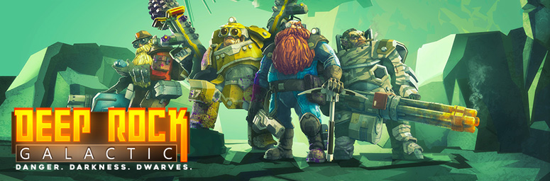 Deep Rock Galactic на русском – игра в разработке