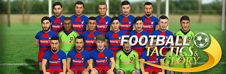 Football, Tactics & Glory Update 1 - Торрент