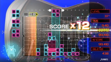 LUMINES REMASTERED – полная версия на PC